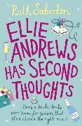 Cover-Bild zu Ellie Andrews Has Second Thoughts von Saberton, Ruth