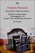 Cover-Bild zu Menschliches, Allzumenschliches I und II von Nietzsche, Friedrich
