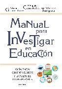 Cover-Bild zu Manual para investigar en educación (eBook) von Cano-Muñoz, Ángeles