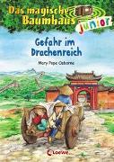 Cover-Bild zu Das magische Baumhaus junior 14 - Gefahr im Drachenreich von Pope Osborne, Mary