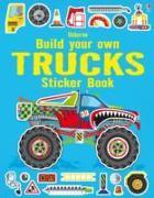 Cover-Bild zu Build Your Own Trucks Sticker Book von Tudhope, Simon