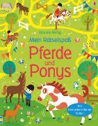 Cover-Bild zu Mein Rätselspaß: Pferde und Ponys von Tudhope, Simon