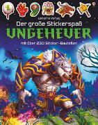 Cover-Bild zu Der große Stickerspaß: Ungeheuer von Tudhope, Simon