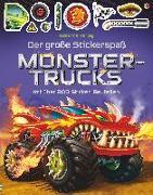 Cover-Bild zu Der große Stickerspaß: Monstertrucks von Tudhope, Simon
