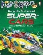Cover-Bild zu Der große Stickerspaß: Supercars von Tudhope, Simon