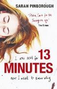 Cover-Bild zu 13 Minutes (eBook) von Pinborough, Sarah