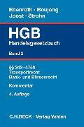 Cover-Bild zu Handelsgesetzbuch Bd. 2: §§ 343-475h, Transportrecht, Bank- und Börsenrecht von Boujong, Karlheinz