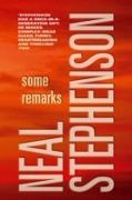 Cover-Bild zu Some Remarks (eBook) von Stephenson, Neal