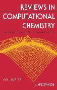 Cover-Bild zu Reviews in Computational Chemistry (eBook) von Lipkowitz, Kenny B. (Hrsg.)