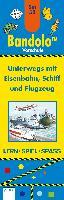 Cover-Bild zu Bandolo Set 53. Unterwegs mit Eisenbahn, Schiff und Flugzeug von Barnhusen, Friederike
