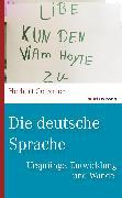 Cover-Bild zu Die deutsche Sprache (eBook) von Genzmer, Herbert