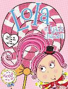 Cover-Bild zu Lola el hada dulcita- Libro de actividades con etiquetas von Nelson, Thomas