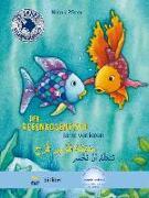 Cover-Bild zu Der Regenbogenfisch lernt verlieren. Kinderbuch Deutsch-Arabisch von Pfister, Marcus