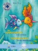 Cover-Bild zu Der Regenbogenfisch lernt verlieren. Kinderbuch Deutsch-Russisch von Pfister, Marcus
