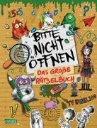 Cover-Bild zu Bitte nicht öffnen: Das große Rätselbuch von Hartwig, Linda