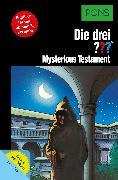 Cover-Bild zu PONS Die drei ??? Fragezeichen Mysterious Testament mit Audio (eBook) von Marx, André