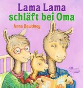 Cover-Bild zu Lama Lama schläft bei Oma von Dewdney, Anna