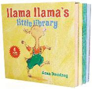 Cover-Bild zu Llama Llama's Little Library von Dewdney, Anna