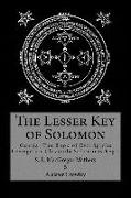Cover-Bild zu The Lesser Key of Solomon von Mathers, S. L. Macgregor