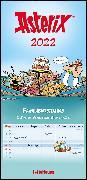 Cover-Bild zu Asterix 2022 Familienplaner - Familien-Timer - Termin-Planer - Kids - Kinder-Kalender - Familien-Kalender - 22x45 von Uderzo, Albert