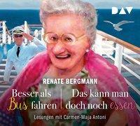 Cover-Bild zu Besser als Bus fahren / Das kann man doch noch essen von Bergmann, Renate