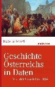 Cover-Bild zu Geschichte Österreichs in Daten (eBook) von Ackerl, Isabella