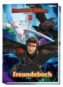Cover-Bild zu Panini: Drachenzähmen leicht gemacht 3: Die geheime Welt: Freundebuch
