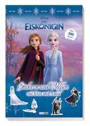 Cover-Bild zu Panini: Disney Die Eiskönigin: Stickern und Malen mit Elsa und Anna