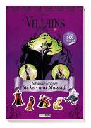 Cover-Bild zu Panini: Disney Villains: Schaurig-schöner Sticker- und Malspaß