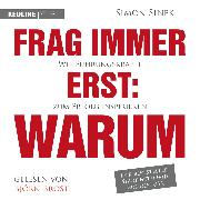 Cover-Bild zu Frag immer erst: warum (Audio Download) von Sinek, Simon