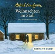 Cover-Bild zu Weihnachten im Stall und andere Geschichten (CD) von Lindgren, Astrid
