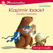 Cover-Bild zu Kasimir backt (CD) von Klinting, Lars