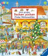 Cover-Bild zu Mein großes Sachen suchen: Frohe Weihnachten von Gernhäuser, Susanne