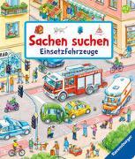 Cover-Bild zu Sachen suchen: Einsatzfahrzeuge von Gernhäuser, Susanne