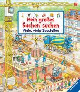 Cover-Bild zu Mein großes Sachen suchen: Viele, viele Baustellen von Gernhäuser, Susanne
