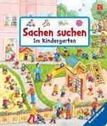 Cover-Bild zu Sachen suchen: Im Kindergarten von Gernhäuser, Susanne