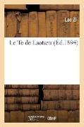 Cover-Bild zu Lao Zi: Le Te de Laotseu