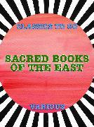 Cover-Bild zu Sacred Books of the East (eBook) von Various