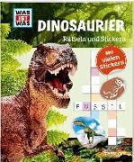 Cover-Bild zu Rätseln und Stickern: Dinosaurier von Hebler, Lisa