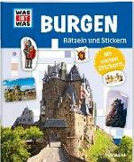 Cover-Bild zu Rätseln und Stickern: Burgen von Hebler, Lisa