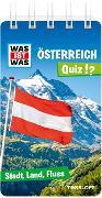 Cover-Bild zu WAS IST WAS Quiz Österreich von Hebler, Lisa