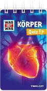 Cover-Bild zu WAS IST WAS Quiz Körper von Hebler, Lisa