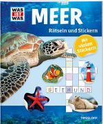 Cover-Bild zu Rätseln und Stickern: Meer von Hebler, Lisa