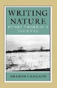 Cover-Bild zu Writing Nature von Cameron, Sharon