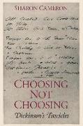 Cover-Bild zu Choosing Not Choosing von Cameron, Sharon