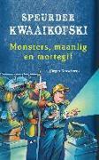 Cover-Bild zu Speurder Kwaaikofski 10: Monsters, maanlig en mottegif (eBook) von Banscherus, Jürgen