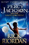 Cover-Bild zu Percy Jackson and the Lightning Thief (Book 1) von Riordan, Rick
