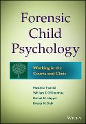 Cover-Bild zu Forensic Child Psychology von Fanetti, Matthew