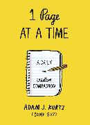 Cover-Bild zu 1 Page at a Time von Kurtz, Adam J.
