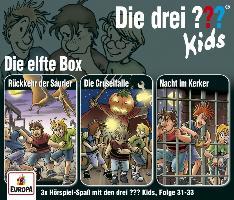 Cover-Bild zu Die drei ??? Kids 3er Box 11. Folge 31-33